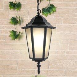 Подвесной уличный светильник GL 1004H черное золото