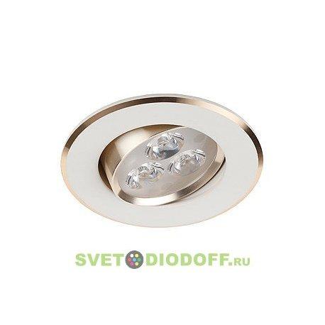 Светильник светодиод. LED 3*1W 210LM 220V 4000K KL LED2AGD/WH