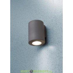 Светильник светодиодный грунтовый 9Вт, AMELIA SPIKE, чёрный, опал, 1xE27 LED-FIL с лампой 800Lm, 2700К