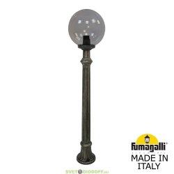 Столб фонарный уличный Fumagalli Aloe R/G250 шар белый