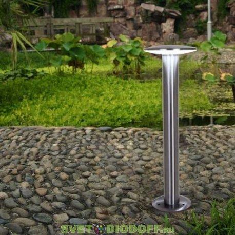 Садово-парковый светильник серии HiTech LED INOX хром450мм