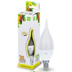 Лампа светодиодная LED-СВЕЧА НА ВЕТРУ-STANDARD 3.5ВТ 160-260В Е14 3000К 300ЛМ ASD