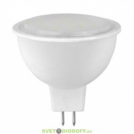 Лампа светодиодная LED-JCDR-STANDARD 7.5ВТ 160-260В GU5.3 3000К 600ЛМ