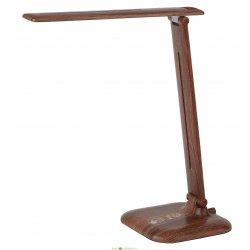 Настольный светодиодный светильник сенсорный ЭРА NLED-463-10W-WOOD «дерево»
