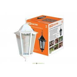 Светильник садово-парковый подвесной цепь, шестигранник 60Вт Е27 белый