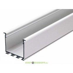 Алюминиевый профиль для светодиодов PLS-LOCK-H25-FS-2000 ANOD