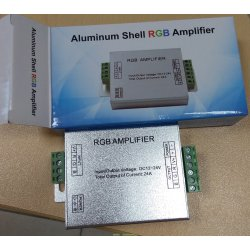 Усилитель сигнала для светодиодной ленты RGB, 24А