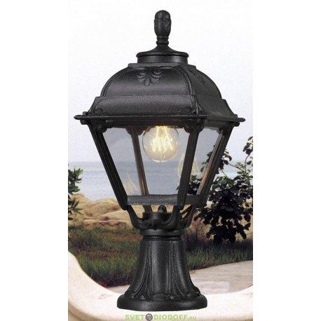 Уличный наземный светильник Fumagalli Minilot/Cefa черный, прозрачный плафон