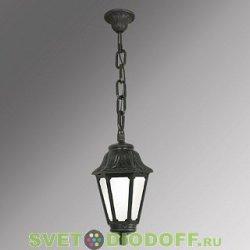 Уличный подвесной светильник Fumagalli Sichem/Anna матовый 1xE27 LED-FIL с лампой 800Lm, 2700К
