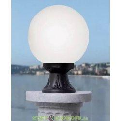 Светильник садовый на подставке MIKROLOT/GLOBE 250 черный, прозрачный