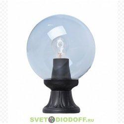Светильник садовый на подставке MINILOT/GLOBE 250 черный, прозрачный