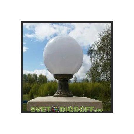 Светильник садовый на подставке MIKROLOT/GLOBE 250 античная бронза, матовый - Светодиодофф.ру