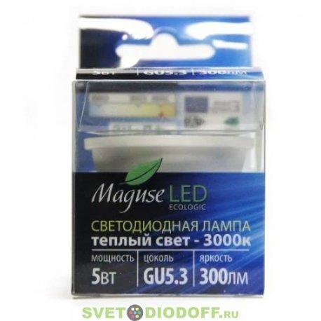 Светодиодная лампа Maguse тип GU10 5Вт/3000К/220-240V/300LM/50*58mm/GU10-2LL
