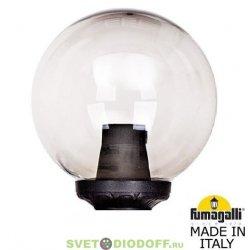 Венчающий светильник ШАР Фумагалли GLOBE 300 Classic черный, прозрачный