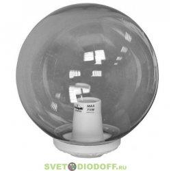 Венчающий светильник ШАР Фумагалли GLOBE 300 Classic белый, дымчатый