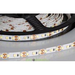 Лента светодиодная ЛЮКС RT 2-5000 24V, 14,4Вт, White5500 2x (2835, 600 LED, PRO)