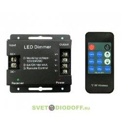 Диммер LN-RF11B-DIM (12-24V, 3x6A, ПДУ Карта 11 кнопок)