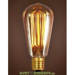 Ретро лампа Эдисона 60W