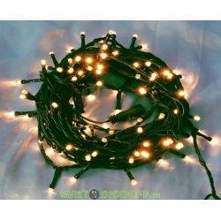 "Гирлянда ""Твинкл Лайт"" 4 м, темно-зеленый ПВХ, 25 LED, цвет белый NEON-NIGHT"