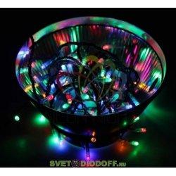 "Гирлянда ""Твинкл Лайт"" 6 м, темно-зеленый ПВХ, 40 LED, цвет мультиколор NEON-NIGHT"