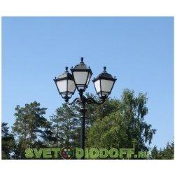 Уличный фонарь HOREB ADAM/SIMON 3L черный/прозрачный 4,15м