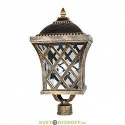 Уличный фонарь с основанием на столб венчающий SD-410P1