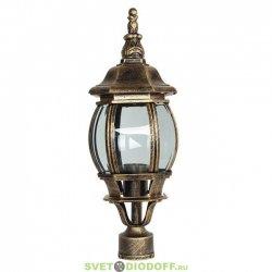 Уличный фонарь с основанием на столб венчающий SD-420P1
