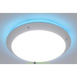Влагозащищенный уличный светильник IP66 Fumagalli Lucia, белый/опал синий ореол