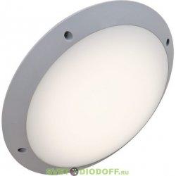 Влагозащищенный уличный светильник IP66 Fumagalli Lucia, серый, опал без подсветки