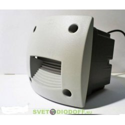 Светильник уличный (подсветка ступеней) FUMAGALLI LETI 100 SQUARE-ST LED белый/опал 1xGX53 LED с лампой 3W