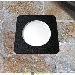 Уличный светодиодный светильник в полотно дорог FUMAGALLI CECI SQUARE 90 / 3,5ВТ серый
