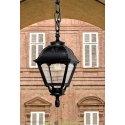 Подвесной уличный светильник Fumagalli Sichem/Cefa черный/прозрачный без лампы
