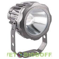 Светодиодный светильник ландшафтно-архитектурный угол 30 градусов 85-265V 10W зеленый IP65
