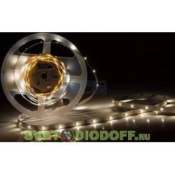 Лента светодиодная открытая 2835 60Led IP20 5м.п. PRO RT 6-5000 12V White (2835, 150 LED) теплый белый