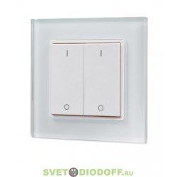 Беспроводная панель управления освещением Knob SR-2801K1-RF-UP White (3V, DIM)