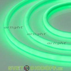 Лента светодиодная термостойкая RTW-2835-180 24V Green (14.4W/m, High temp) зеленый