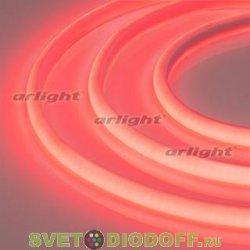 Лента светодиодная термостойкая RTW-2835-180 24V Red (14.4W/m, High temp) красный