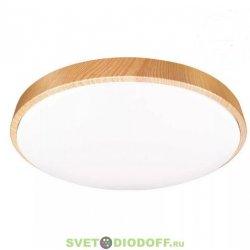 Светильник светодиодный LED STARWOOD управляемый 40W димм. 3000-6500K max 6200LM пульт ДУ матовый белый плафон