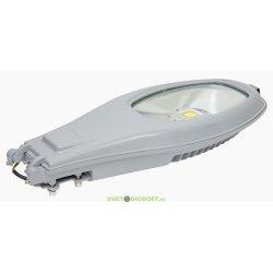 Консольный уличный светодиодный светильник 60Вт, IP67, 6000К серый
