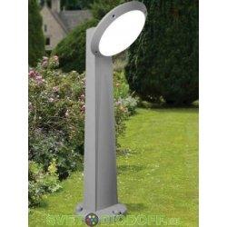 Уличный фонарь столб Fumagalli Gabri Remi/Lucia 1L 1.0м серый, опал