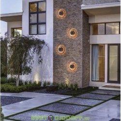 """Уличный настенный светодиодный светильник """"Круги"""" ARKADA 4W, 270Lm, 3000K, IP54, черны"""