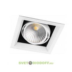 Светодиодный светильник поворотный AL211 карданный 1x30W 4000K 35 градусов ,белый