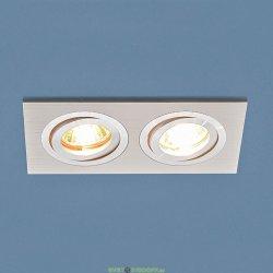 Точечный светодиодный светильник двойной MR16 G5.3 белый