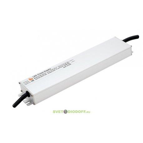 Ультратонкий блок питания в металлическом корпусе, IP67, 100W, 24V