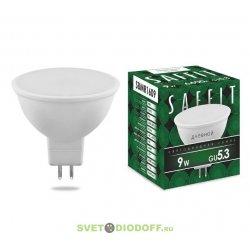 Лампа светодиодная SBMR1609 9W 2700K 230V GU5.3 MR16 теплый