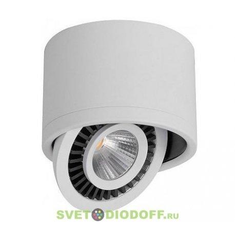 Светильник накладной светодиодный, спот поворотный AL523, 10W, 230V, 900Lm, IP20, угол 24°, белый