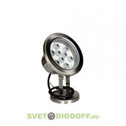 Светодиодный светильник подводный для фонтанов LL-875 Lux 9W RGB 24V IP68