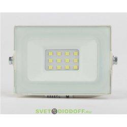 Прожектор светодиодный 10Вт 800Лм 6500К 95x62x35 белый корпус LPR-031-0-65K-010