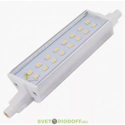 Лампа светодиодная для прожектора, бра Ecola Projector LED Lamp Premium 14,0W F118 220V R7s 4200K (алюм. радиатор) 118x20x32