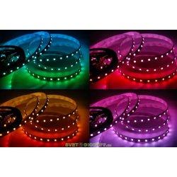 Лента светодиодная полноцвет ЛЮКС DSG 5050 RGB 60L-V12-IP33, RGB, 300 LED, 14.4W/m, LUX (SMD 5050 60L 12 V IP33 RGB)
